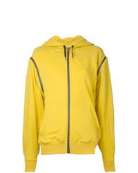 Sweat à capuche jaune A.F.Vandevorst