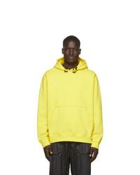 Sweat à capuche jaune Nike