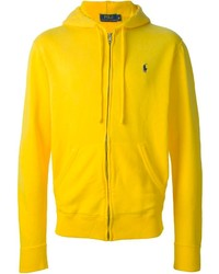 Sweat à capuche jaune Polo Ralph Lauren