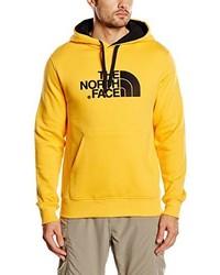 Sweat à capuche jaune The North Face