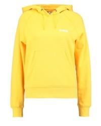 Sweat à capuche jaune Vero Moda