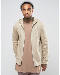 Sweat à capuche marron clair Asos