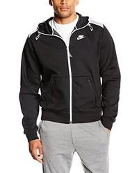 Sweat à capuche noir Nike