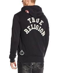 Sweat à capuche noir True Religion