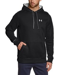Sweat à capuche noir Under Armour