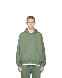 Sweat à capuche olive Fear Of God