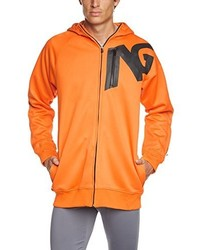 Sweat à capuche orange Analog