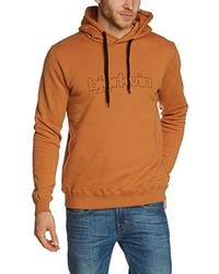 Sweat à capuche orange Björkvin