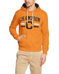 Sweat à capuche orange Champion