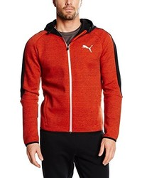 Sweat à capuche orange Puma