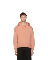 Sweat à capuche rose Acne Studios