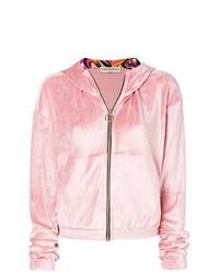 Sweat à capuche rose Emilio Pucci