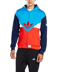 Sweat à capuche rouge adidas