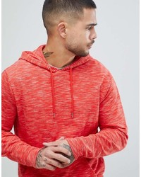 Sweat à capuche rouge Asos