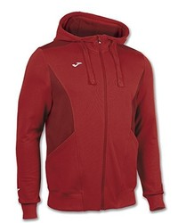 Sweat à capuche rouge Joma