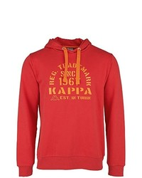 Sweat à capuche rouge Kappa