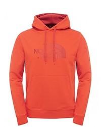 Sweat à capuche rouge The North Face