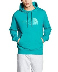 Sweat à capuche turquoise The North Face