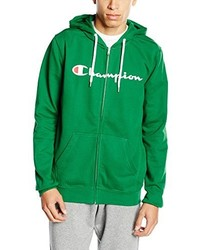 Sweat à capuche vert Champion