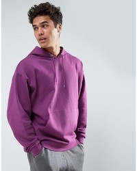 Sweat à capuche violet clair Asos