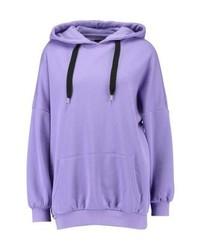 Sweat à capuche violet clair Even&Odd