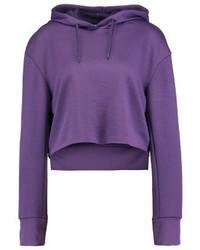 Sweat à capuche violet Cheap Monday