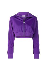 Sweat à capuche violet Chiara Ferragni