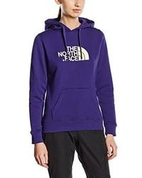 Sweat à capuche violet The North Face