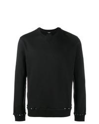 Sweat-shirt à clous noir Valentino