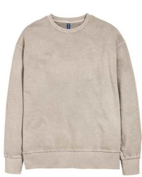 Sweat-shirt beige