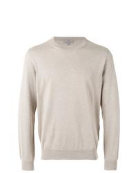 Sweat-shirt beige Canali
