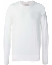 Sweat-shirt blanc