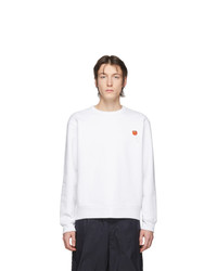 Sweat-shirt blanc Acne Studios