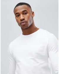 Sweat-shirt blanc Asos
