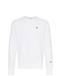 Sweat-shirt blanc Champion