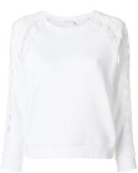 Sweat-shirt blanc Chloé