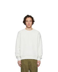 Sweat-shirt blanc Dries Van Noten