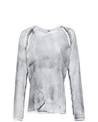 Sweat-shirt blanc Lost & Found Ria Dunn