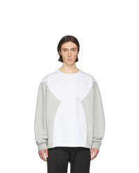Sweat-shirt blanc Maison Margiela