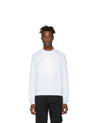 Sweat-shirt blanc Moncler
