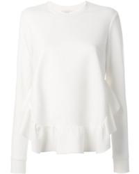 Sweat-shirt blanc Stella McCartney