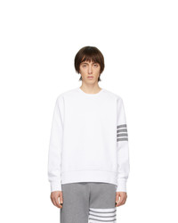 Sweat-shirt blanc Thom Browne