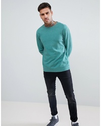 Sweat-shirt bleu canard ASOS DESIGN