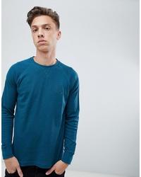 Sweat-shirt bleu canard Tokyo Laundry