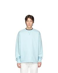 Sweat-shirt bleu clair Acne Studios
