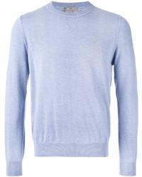 Sweat-shirt bleu clair Canali