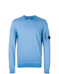 Sweat-shirt bleu clair CP Company