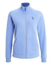 Sweat-shirt bleu clair Ralph Lauren