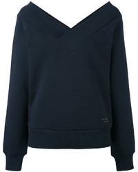 Sweat-shirt bleu marine Burberry