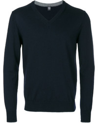 Sweat-shirt bleu marine Eleventy